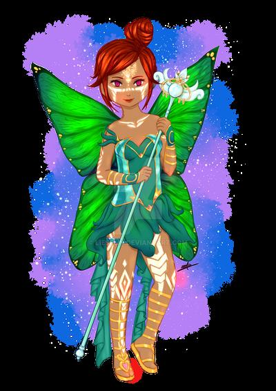 Fairy gardian by Lieselin