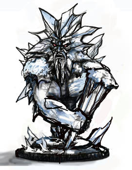 Ymir, the Frost Giant Art