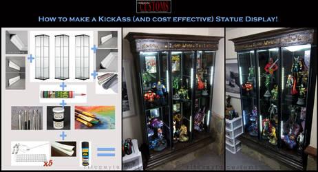 How to Make a KickAss Statue Display!