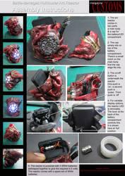 Battle Damaged Hulk Buster Arc Reactor