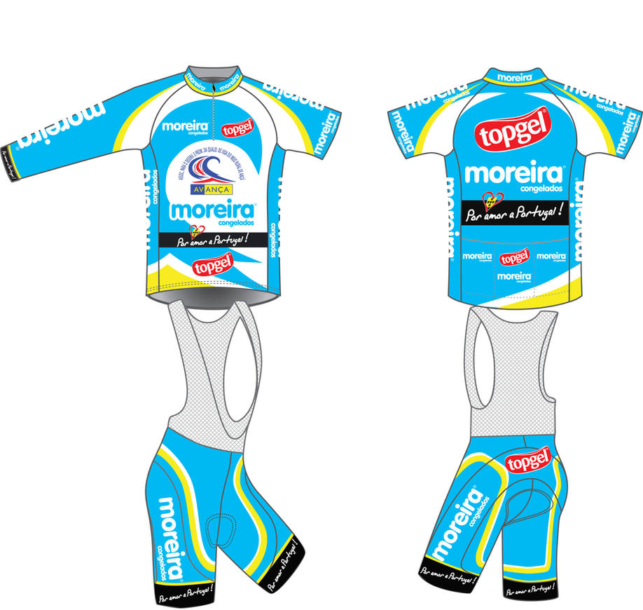 Jerseys AVANCA Team 2012 by TheDpStudio