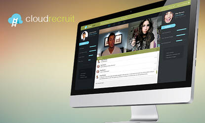 Cloudrecruit - Web and User Interface Design