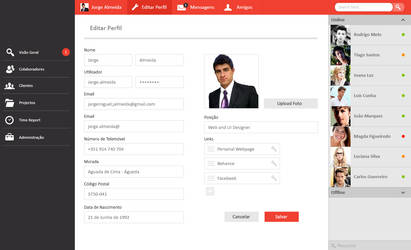 User Interface Backoffice