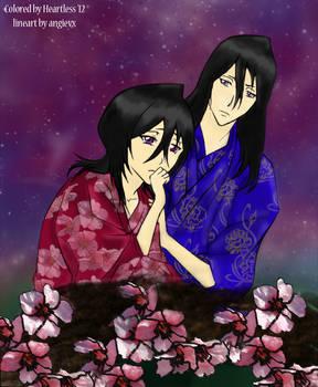 Byakuya and Hisana