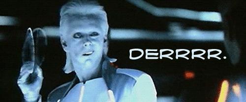 Tron: Derrrr. by rocket-soda