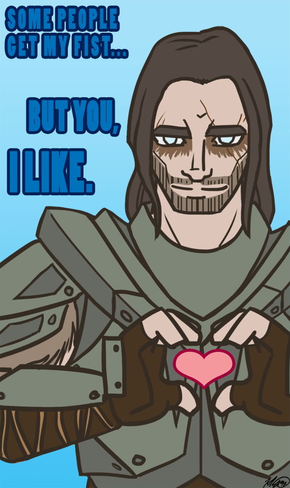 Skyrim Valentine Collection by AlyOh on DeviantArt – Skyrim Valentines Card