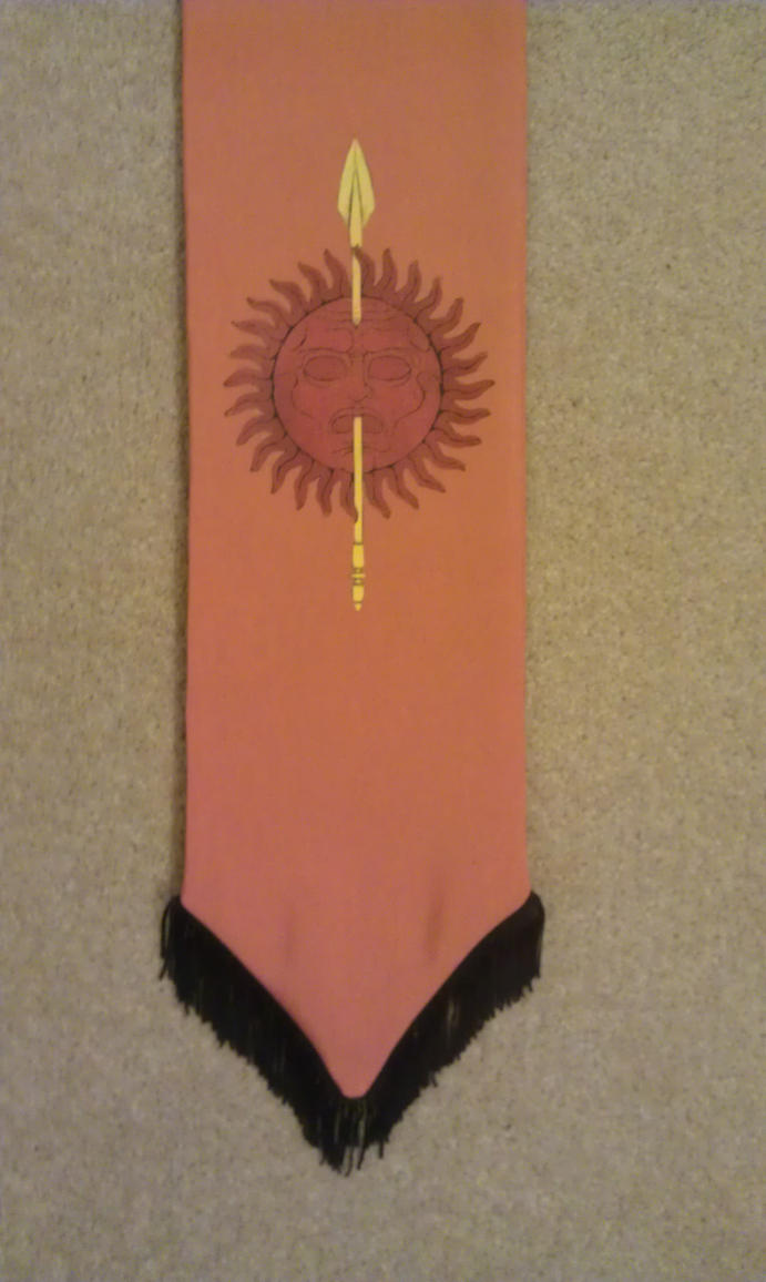 House Martell Banner by NuFenix