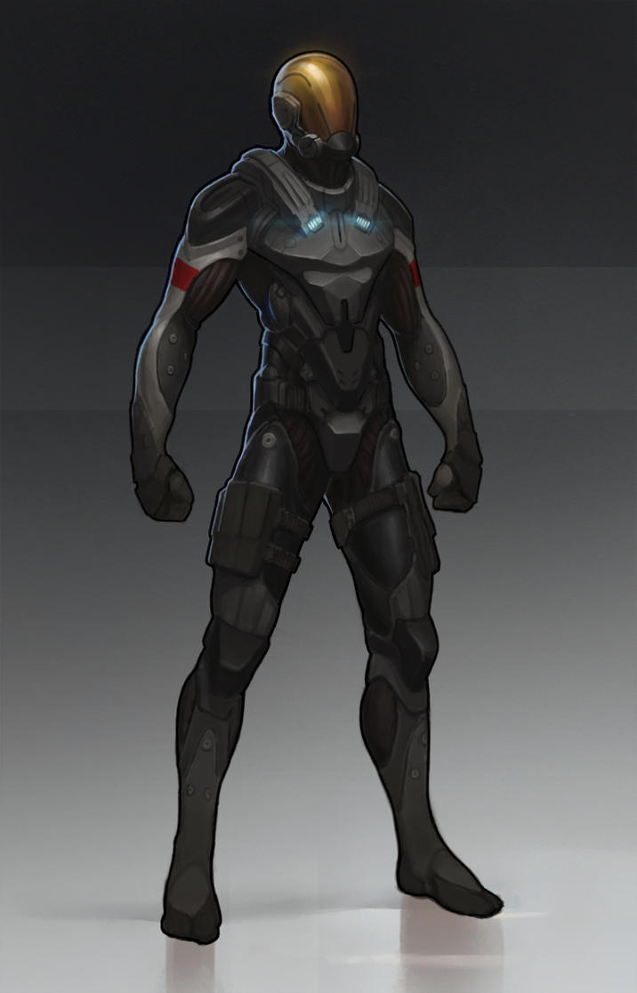 Sci-fi suit. by IlyaBodaykin on DeviantArt