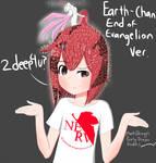 End Of Evangelion Earth-chan by MantisShrimpp