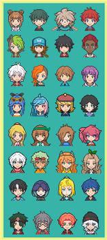 Pokemon Nymea - Gift- Trainers Icons by Zero-Raziel