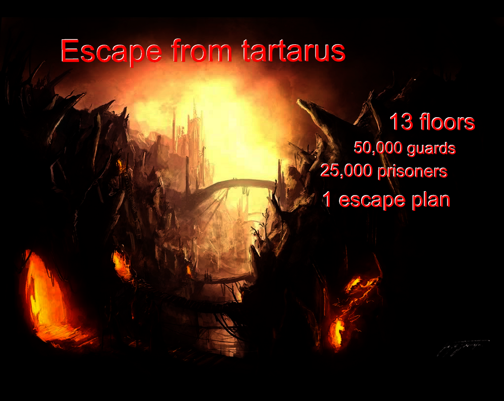 escape from tartarus 2 by Prince-lightshadow