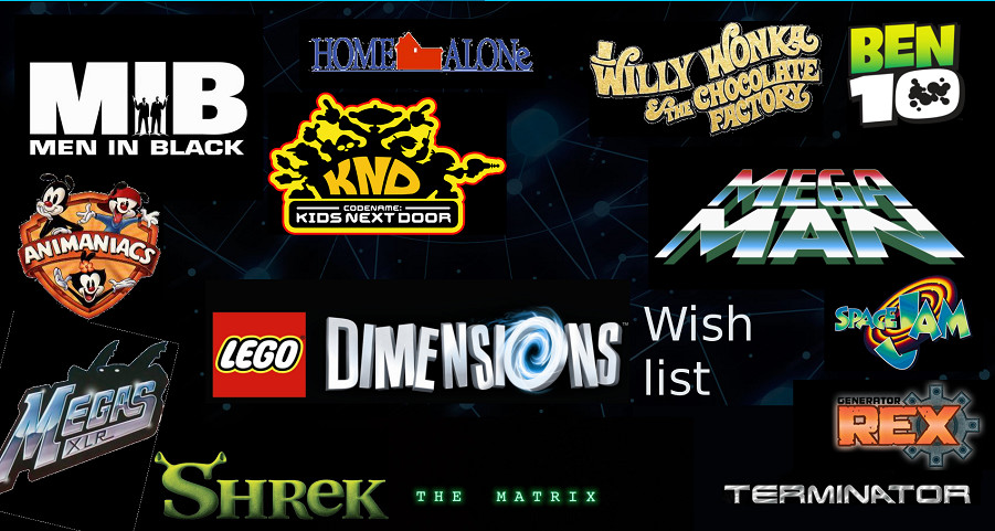 Lego Dimensions Franchise wish list by kirby1up on DeviantArt