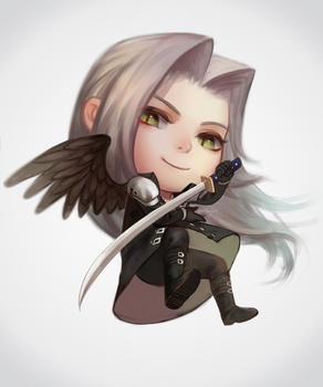 Chibi Sephiroth