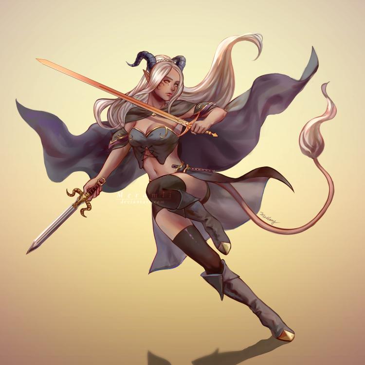 C: Nisha Retaru by Meramii