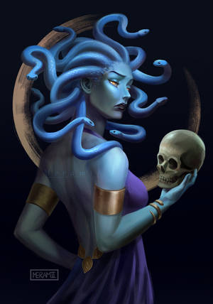 Medusa by Meramii