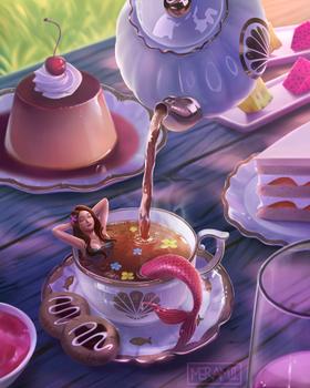 High Tea Mermaid