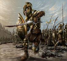 Vanyar Elves in War of Wrath by sboterod