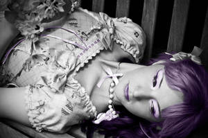 Lolita Fashion - Purple by lariencelebrindal