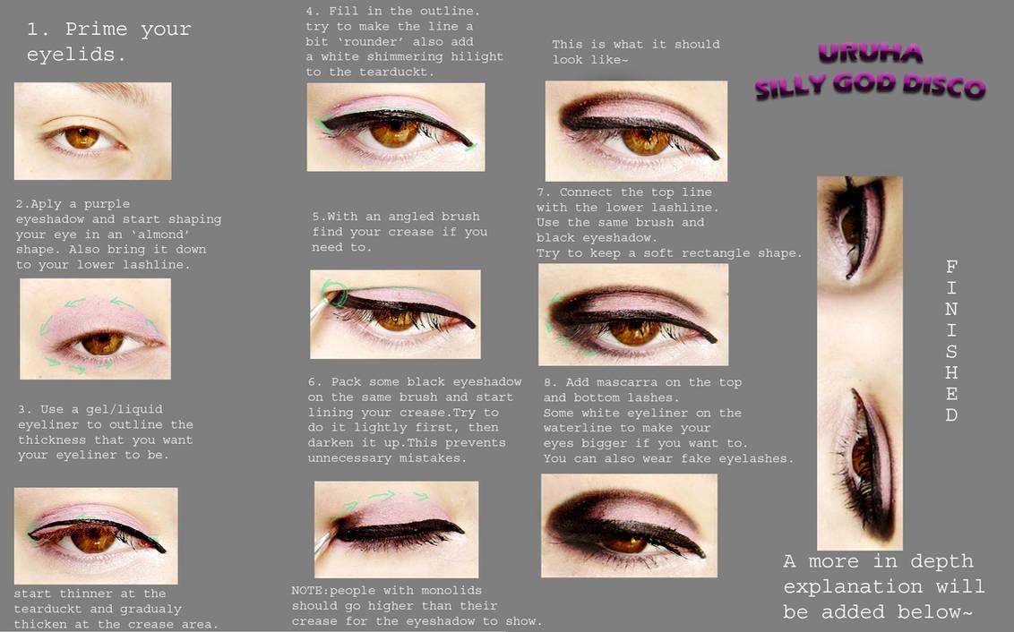 U for Uruha. Makeup Tutorial by oGuren