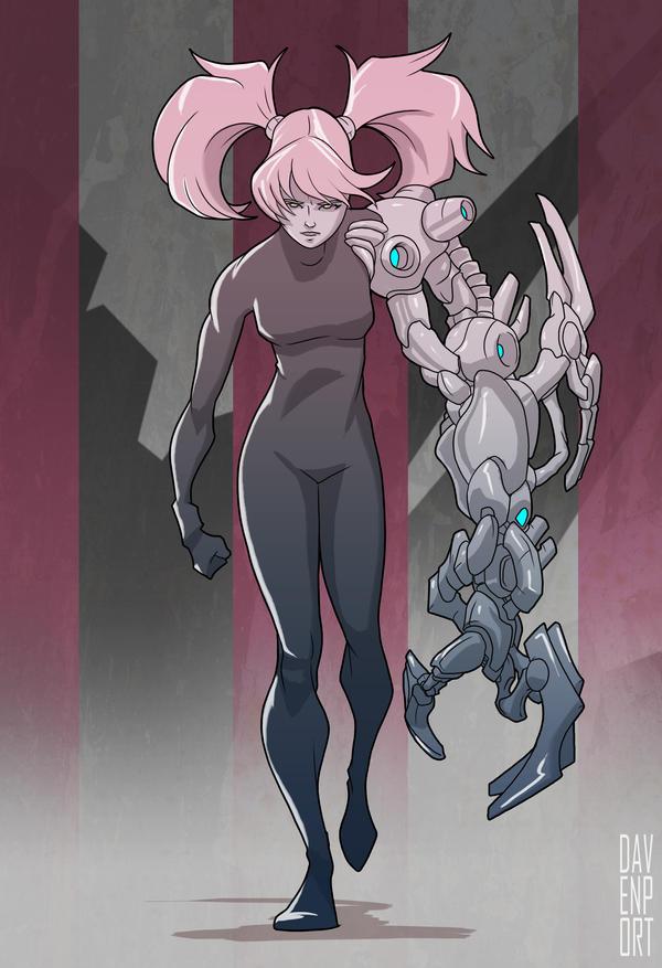 Cyber concept by davenpoe