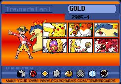 Pokemon Gold Final Team 1 by LadySesshy