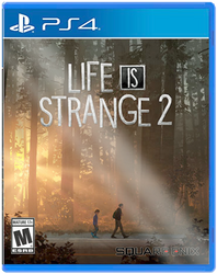 Life is Strange 2: PS4 Box Art