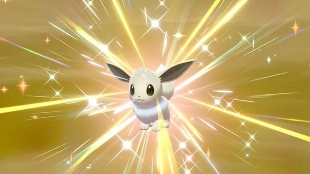Pokemon Shield: Hatched a shiny Eevee