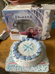 Frozen II: Ice Cream Cake