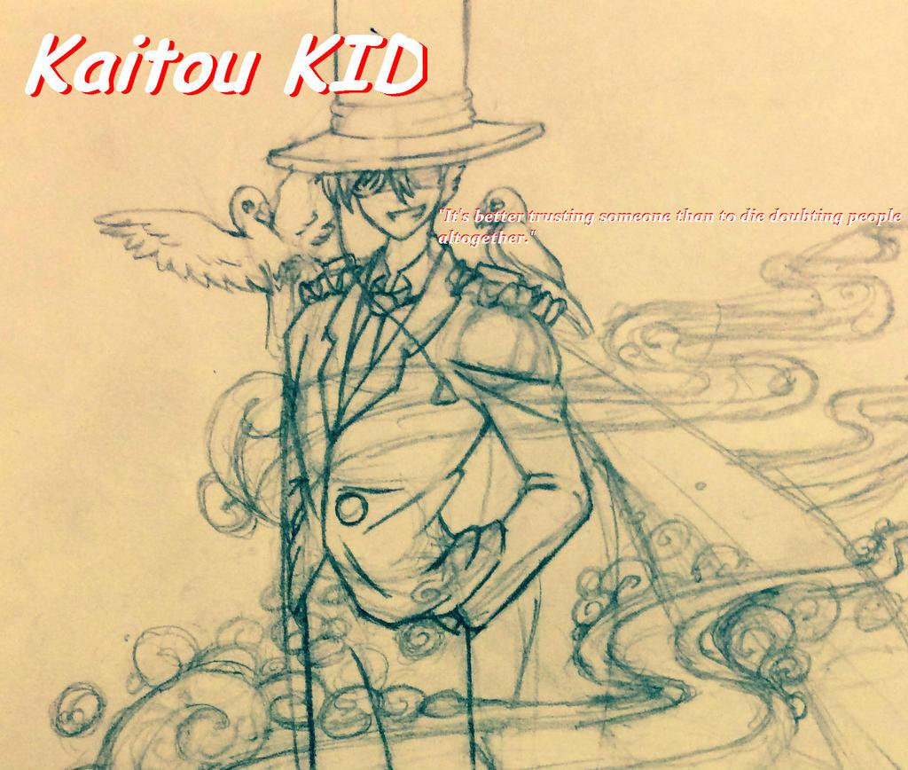 Kaitou KID by sunnyzhp22