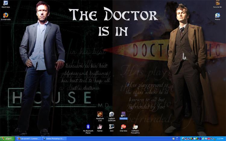 Desktop- The Doctor is In