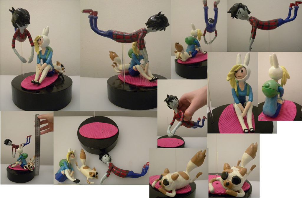 Marshall Lee Fionna And Cake First Set 4 Shots By