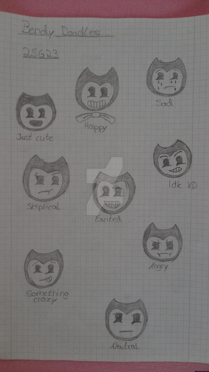 Bendy Doodles by 2SpringtrapGirl23