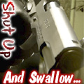 Gun: Shut Up and Swallow Icon by GuitarInk