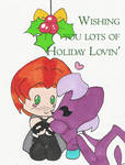 Happy Holidays Silversword by junichan