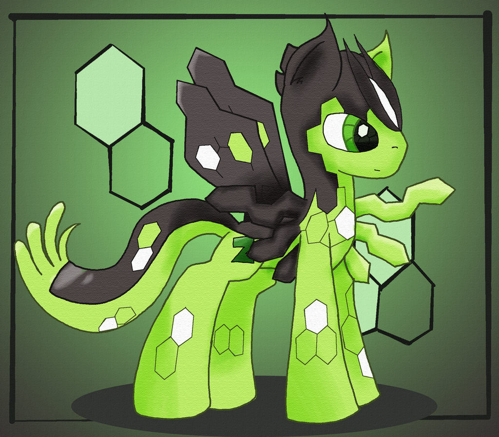 Zygarde Pony By MakePastaNot-War On DeviantArt