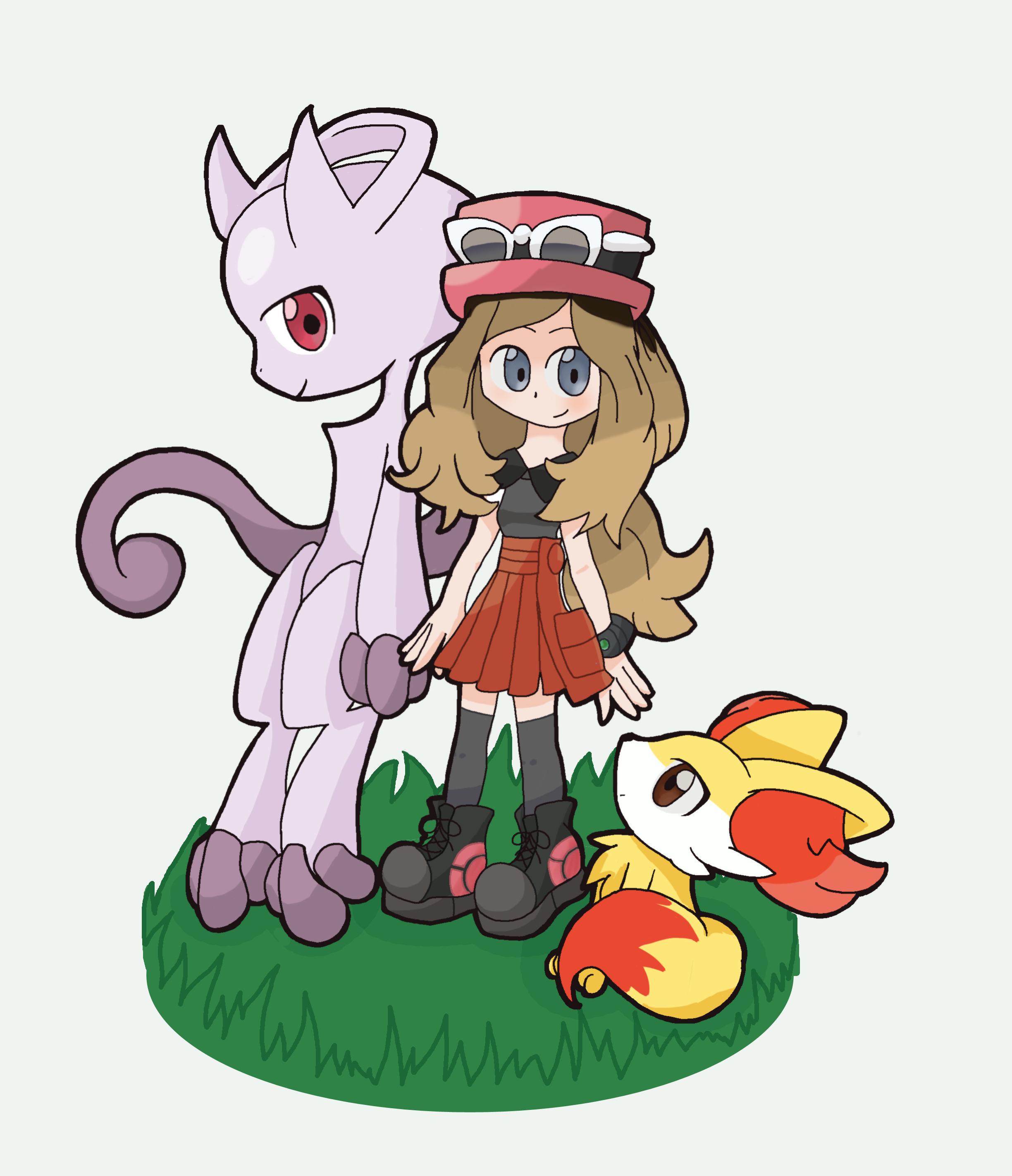 Serena ( Pokemon X and Y ) by MakePastaNot-War on DeviantArt