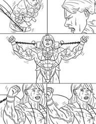 Margot vs Scarjo: Bicep Breaker - Page 3 by The-Muscle-Girl-Fan