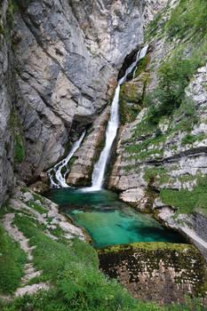 Slap Savica, Slowenia
