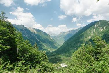 Lepena  mountain view by ThePraiodanish