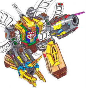 Classic Omega Supreme Robot