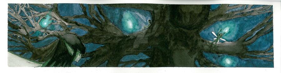 Faeriescape by Noir-Tsukiyomo32