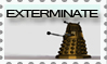 Exterminate- Dalek stamp by Zellykats-Stuff