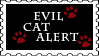 Evil Cat Alert by Zellykats-Stuff