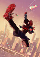 SpiderVerse by NOEYEBROW