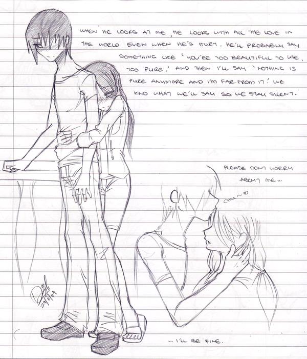 My Love - Sketch By Catt-gal-2006 On DeviantArt