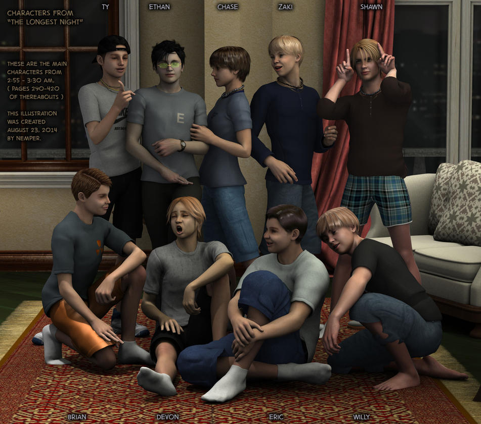 The Longest Night : Ethan's Gang, 3:00 AM by Nemper