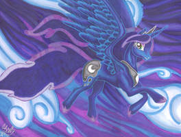 Princess Luna by Makomaragi