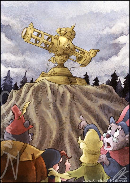 The great Gummiscope by SplatterPhoenix