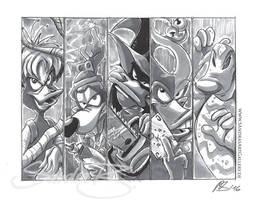 Fearsome Five by SplatterPhoenix