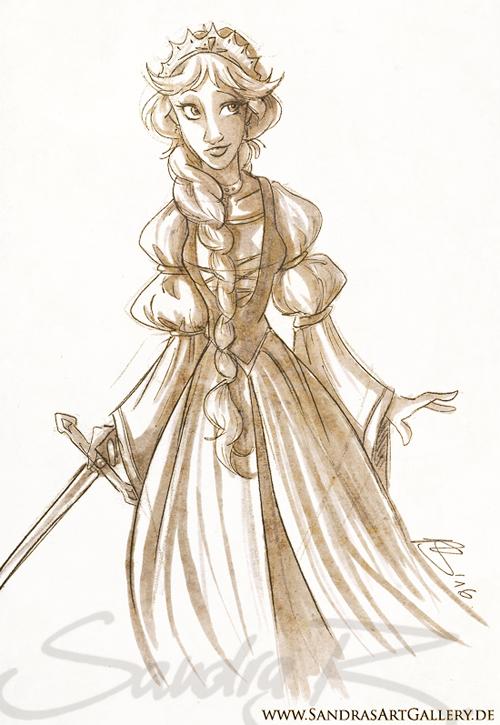 Queen of Dunwyn by SplatterPhoenix